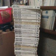 Libros antiguos: 78 TOMOS AGATHA CHRISTIE SELECCIONES DE BIBLIOTECA DE ORO. Lote 105891355
