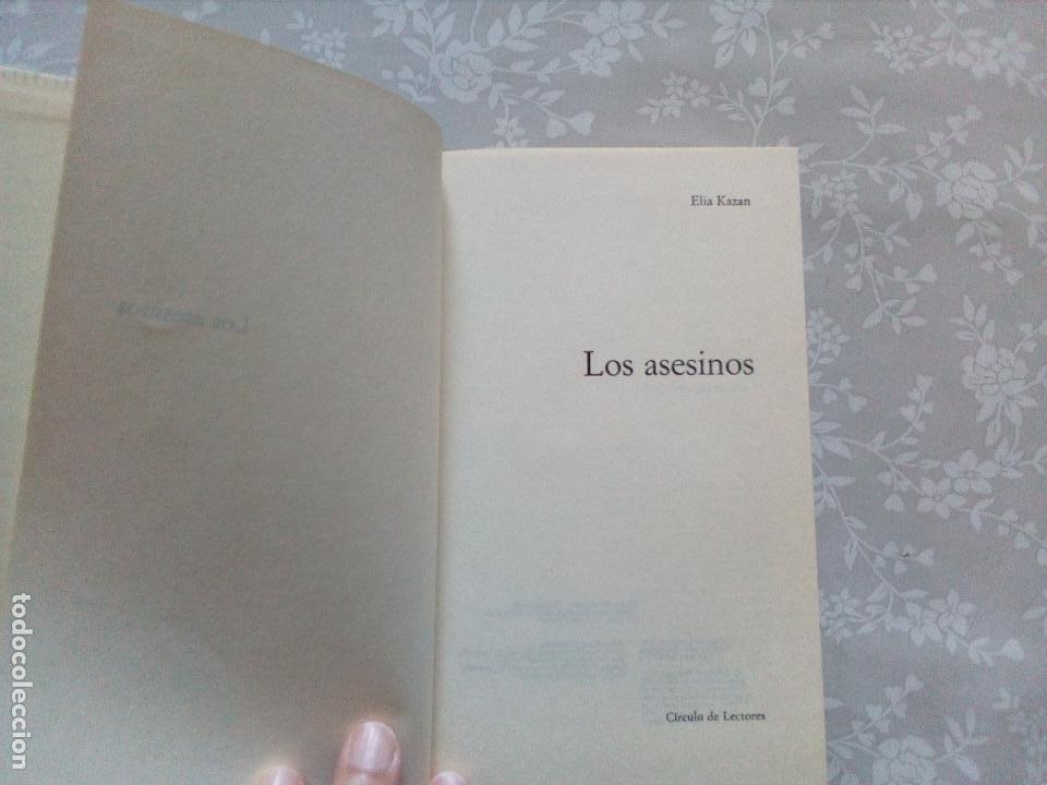 Libros antiguos: Libro los asesinos-Elia Kazan. - Foto 2 - 108868051