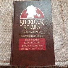 Libros antiguos: SHERLOCK HOLMES OBRAS COMPLETAS ( L ). Lote 109140807