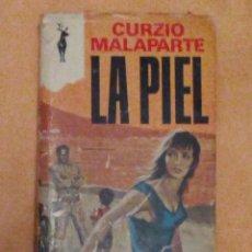 Libros antiguos: VENDO NOVELA, LA PIEL.. Lote 109346143