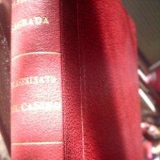 Libros antiguos: BIBLIOTECA ORO, EDITORIAL MOLINO, VOLUMEN ENCUADERNADO CON TRES NOVELAS, 1ª EDICION 1935. Lote 109997971
