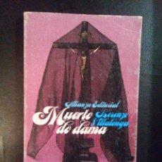 Libros antiguos: VENDO NOVELA,MUERTE DE DAMA, DE LORENZO VILLALONGA.. Lote 110030555