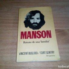 Libros antiguos: PRECIOSO LIBRO DE MANSON. Lote 110263927