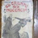 Libros antiguos: F 1 EL TRIUNFO DE LA INOCENCIA POR CAROLINA INVERNICIO. Lote 110475067