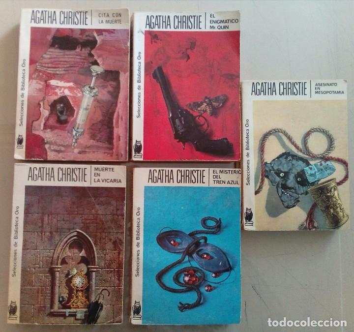 LOTE DE 5 NOVELAS DE AGHATA CHISTIE (Libros antiguos (hasta 1936), raros y curiosos - Literatura - Terror, Misterio y Policíaco)