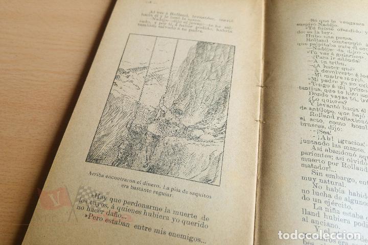 Libros antiguos: Biblioteca Orbi - El desfiladero del diablo - Luis Noir - Principios S. XX - Foto 4 - 112518847