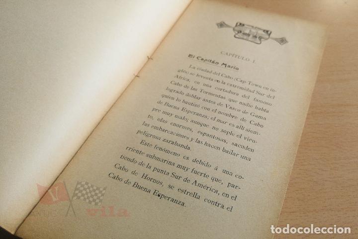 Libros antiguos: Biblioteca Orbi - Un drama en el fondo del desierto - L. Noir - 1909 - Foto 4 - 112519699