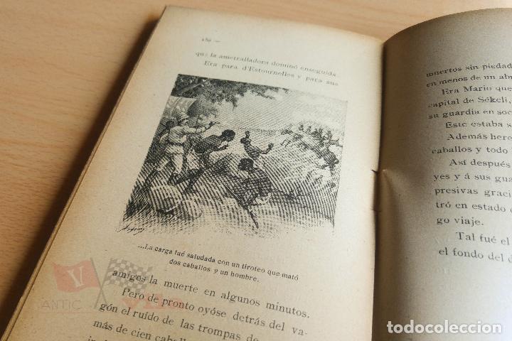 Libros antiguos: Biblioteca Orbi - Un drama en el fondo del desierto - L. Noir - 1909 - Foto 5 - 112519699