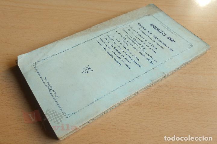Libros antiguos: Biblioteca Orbi - Un drama en el fondo del desierto - L. Noir - 1909 - Foto 6 - 112519699