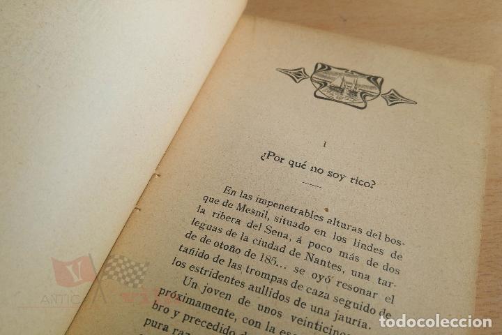 Libros antiguos: Biblioteca Orbi - El vizconde de Cadignan - X. de Montepin - Principios S. XX - Foto 4 - 112519883