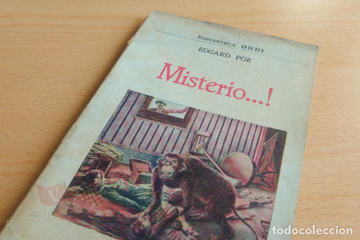 BIBLIOTECA ORBI - MISTERIO...! - E. POE - PRINCIPIOS S. XX (Libros antiguos (hasta 1936), raros y curiosos - Literatura - Terror, Misterio y Policíaco)