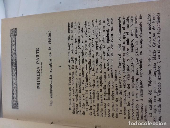 Libros antiguos: LOS CRIMENES DE DIAVOLINA LA BASTARDA-EL CADAVER ACUSADOR-CAROLINA INVERNIZIO-CASA MAUCCI 1910 ¿? - Foto 4 - 112928143