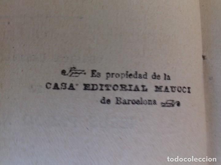 Libros antiguos: LOS CRIMENES DE DIAVOLINA LA BASTARDA-EL CADAVER ACUSADOR-CAROLINA INVERNIZIO-CASA MAUCCI 1910 ¿? - Foto 5 - 112928143