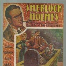 Libros antiguos: SHERLOCK HOLMES, MEMORIAS INTIMAS DEL REY DE LOS DETECTIVES 7: EN LA TUMBA, JUNTO A LA MAQUINA INFER. Lote 113276287