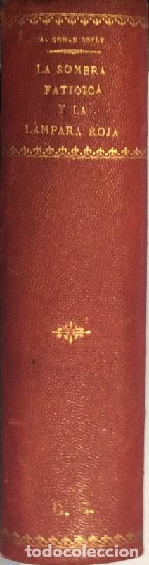 Libros antiguos: La sombra fatídica/La lámpara roja - Arthur Conan Doyle - Foto 2 - 114173838