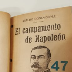Libros antiguos: TRES NOVELAS DE CONAN DOYLE: EL CAPITÁN DE LA ESTRELLA POLAR, LA GUARDIA BLANCA, EL CAMPAMENTO DE NA. Lote 116746367