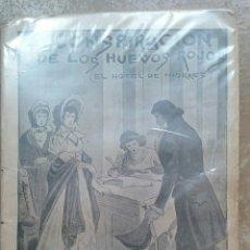 Libros antiguos: LA CONSPIRACIÓN DE LOS HUEVOS ROJOS (EL HOTEL DE NIORRES) ERNESTO CAPENDU. Lote 117097582
