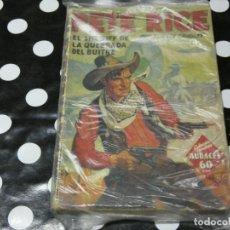Libros antiguos: PETE RICE EL SHERIFF DE LA QUEBRADA DEL BUITRE EN HOMBRES AUDACES. Lote 118176927