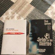 Libros antiguos: DOS NOVELAS DE RICHARD MATHESON Y TOM HOLLAND (PRIMERAS EDICIONES). Lote 118712467