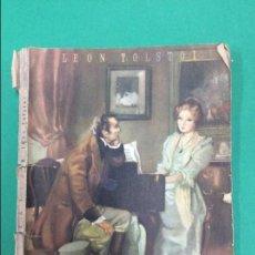 Libros antiguos: KATIA - LEON TOLSTOI - COLECCION OASIS. Lote 119261991
