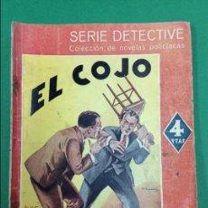 Libros antiguos: EL COJO - VALENTINE WILLIAMS - SERIE DETECTIVE. Lote 119264595