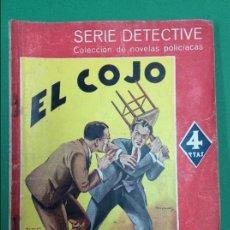 Libros antiguos: EL COJO - VALENTINE WILLIAMS - SERIE DETECTIVE. Lote 119264647