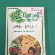 Libros antiguos: EEN WEB VAN BETOVERING- JANET DAILEY- ALEMAN - HARLEQUIN BOOKS - 1971. Lote 119265303