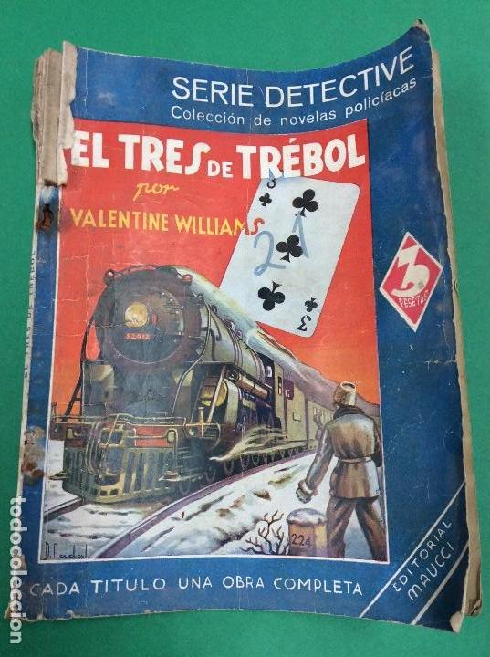 EL TRES DE TRÉBOL - VALENTINE WILLIAMS - SERIE DETECTIVE (Libros antiguos (hasta 1936), raros y curiosos - Literatura - Terror, Misterio y Policíaco)