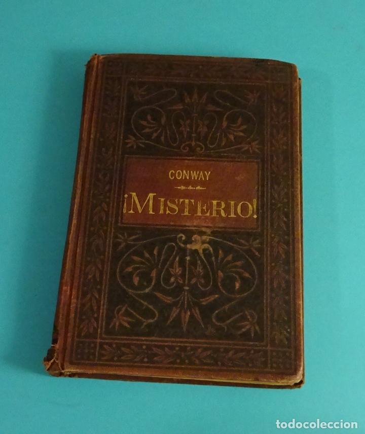 ¡ MISTERIO !. HUGH CONWAY (PSEUDÓNIMO CALLED BACK). M. MAUCCI - LIBRERO EDITOR. 1895 (Libros antiguos (hasta 1936), raros y curiosos - Literatura - Terror, Misterio y Policíaco)