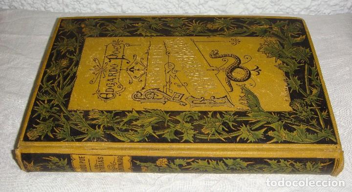 HISTORIAS EXTRAORDINARIAS. EDGARDO POE. CON ILUSTRACIONES. ARTE Y LETRAS - 1887 (Libros antiguos (hasta 1936), raros y curiosos - Literatura - Terror, Misterio y Policíaco)