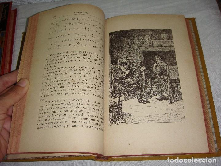 Libros antiguos: Historias Extraordinarias. Edgardo Poe. Con ilustraciones. Arte y Letras - 1887 - Foto 4 - 122366467