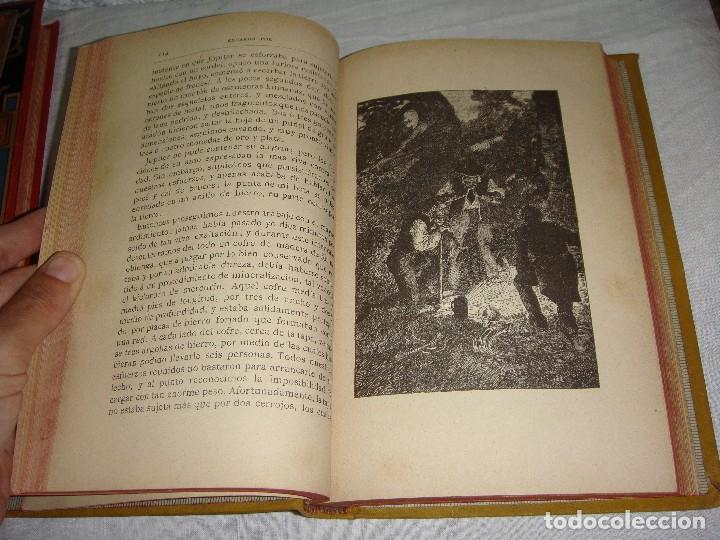 Libros antiguos: Historias Extraordinarias. Edgardo Poe. Con ilustraciones. Arte y Letras - 1887 - Foto 5 - 122366467
