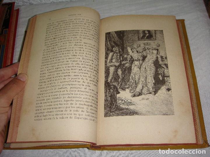Libros antiguos: Historias Extraordinarias. Edgardo Poe. Con ilustraciones. Arte y Letras - 1887 - Foto 6 - 122366467