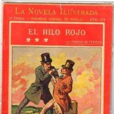 Libros antiguos: ROCAMBOLE. EL HILO ROJO POR PONSON DU TERRAIL. Lote 122538219