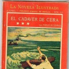Libros antiguos: ROCAMBOLE. EL CADÁVER DE CERA POR PONSON DU TERRAIL. Lote 122538831