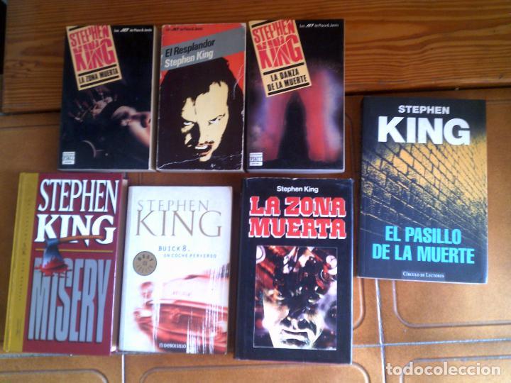LOTE DE LIBROS DE STEPHEN KING VARIOS (Libros antiguos (hasta 1936), raros y curiosos - Literatura - Terror, Misterio y Policíaco)
