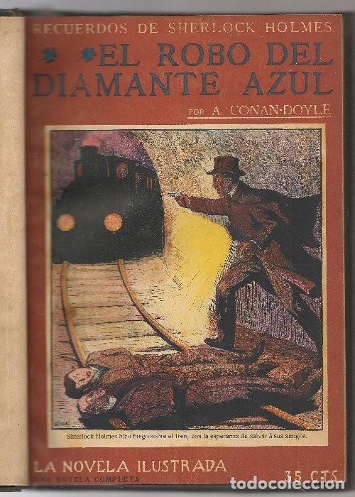 CONAN DOYLE,ARTHUR ,11 OBRAS DE SHERLOCK HOLMES, .... (Libros antiguos (hasta 1936), raros y curiosos - Literatura - Terror, Misterio y Policíaco)