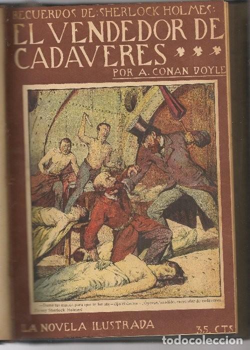 Libros antiguos: CONAN DOYLE,Arthur ,11 obras de Sherlock Holmes, .... - Foto 5 - 126346383