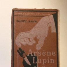 Libros antiguos: MAURICE LEBLANC. ARSENE LUPIN. PREFACE JULES CLARETIE. GENTLEMEN. CAMBRIOLEUR. CIRCA 1908.. Lote 127585870