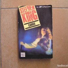 Libros antiguos: STEPHEN KING CARRIE - PLAZA & JANES 1988 - P. Lote 127613763