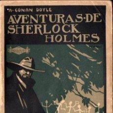Libros antiguos: CONAN DOYLE - LA RESURRECCIÓN DE SHERLOCK HOLMES (PROMETEO, S.F.). Lote 128433971