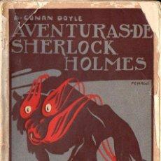 Libros antiguos: CONAN DOYLE - SHERLOCK HOLMES - EL PERRO DE BASKERVILLE (PROMETEO, S.F.). Lote 128434059