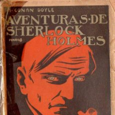 Libros antiguos: CONAN DOYLE - SHERLOCK HOLMES - UN CRIMEN EXTRAÑO (PROMETEO, S.F.). Lote 128434263