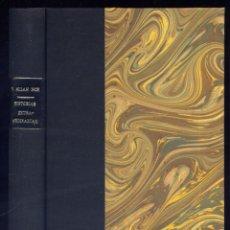 Libros antiguos: POE, EDGAR ALLAN. HISTORIAS EXTRAORDINARIAS. [SINGULAR HISTORIA DE HANS PFAALL...]. (1918).. Lote 128510839