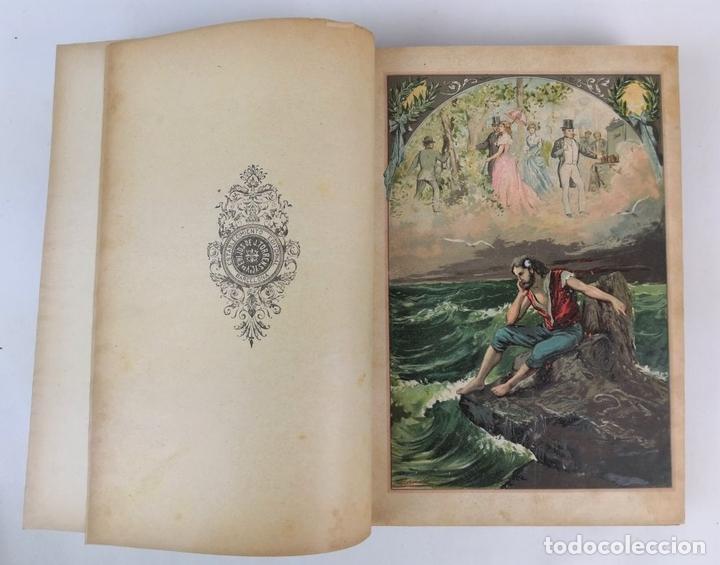 Libros antiguos: BARCELONA Y SUS MISTERIOS. 2 TOMOS. ANTONIO ALTADILL. EDIT VIUDA É HIJOS DE J.TORRENS. 1891. - Foto 5 - 130184203