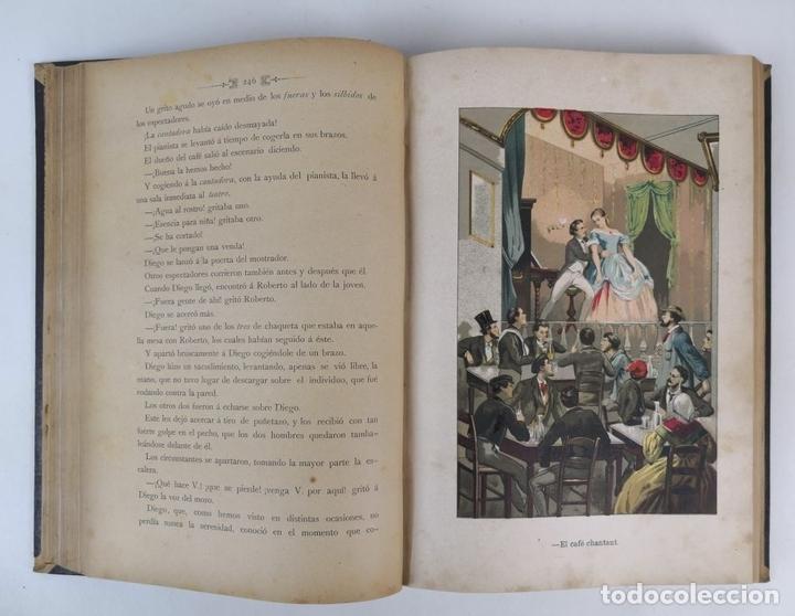 Libros antiguos: BARCELONA Y SUS MISTERIOS. 2 TOMOS. ANTONIO ALTADILL. EDIT VIUDA É HIJOS DE J.TORRENS. 1891. - Foto 8 - 130184203