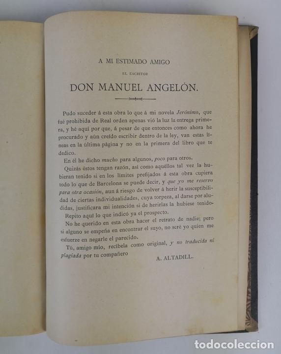 Libros antiguos: BARCELONA Y SUS MISTERIOS. 2 TOMOS. ANTONIO ALTADILL. EDIT VIUDA É HIJOS DE J.TORRENS. 1891. - Foto 22 - 130184203