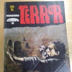 Libros antiguos: ENTRE TINIEBLAS. NARRACIONES GÉMINIS DE TERROR 19. Lote 130896084