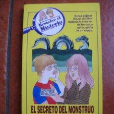 Libros antiguos: RESUELVE EL MISTERIO Nº 2: EL SECRETO DEL MONSTRUO DEL LAGO LOON; M. MASTERS. Lote 131171088