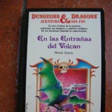Libros antiguos: DUNGEONS AND DRAGOSN Nº 17: EN LAS ENTRAÑAS DEL VOLCAN; MORRIS SIMON. Lote 131193868